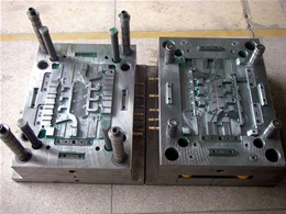 Mechanical processing injection mold